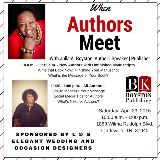 When Authors Meet1